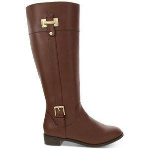 NWB Karen Scott Deliee Wide Calf Riding Boots